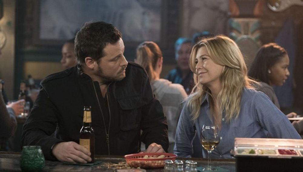 Karev y Grey en la 14 temporada de 'Anatomía de Grey'