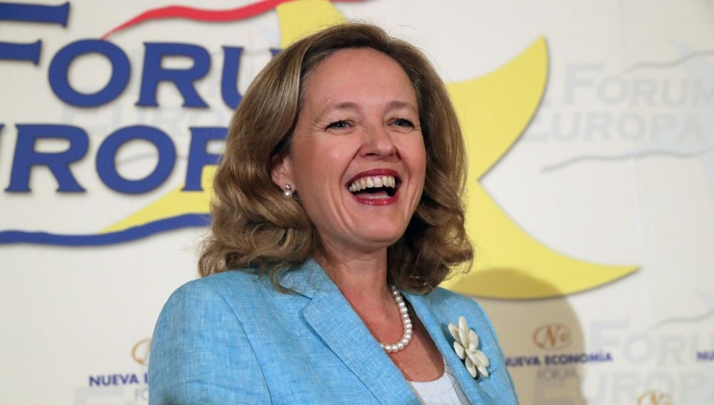 La ministra de Economía y Empresa, Nadia Calviño
