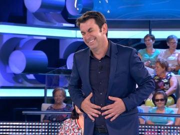 Arturo Valls despide a una concursante al ritmo de una película de Disney