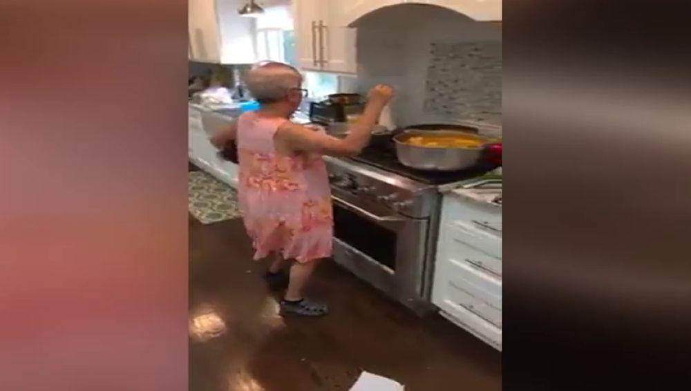 La abuela con más ritmo de Puerto Rico