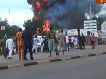 Más de 35 muertos en una explosión de gas en Nigeria