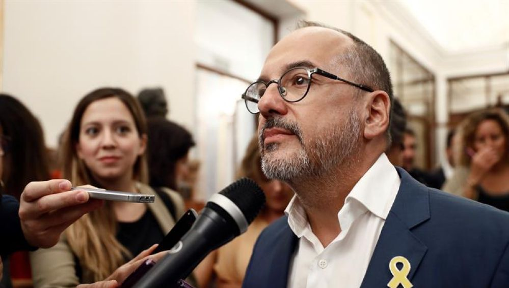 El portavoz del PDeCAT, Carles Campuzano