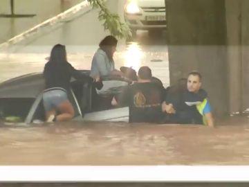 Un total de cinco provincias del nordeste del país estarán en riesgo este miércoles por lluvias y tormentas