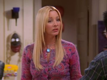 Lisa Kudrow como Phoebe Buffay en 'Friends'