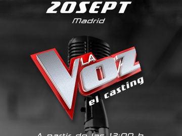 Casting de La Voz en Madrid