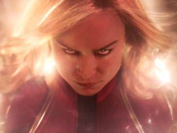 Brie Larson como 'Capitana Marvel'