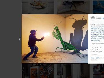 Los grafitis de este artista cobran vida
