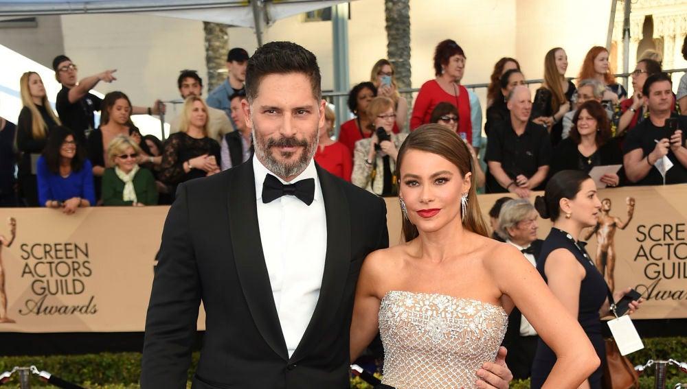 Sofía Vergara posa junto a su guapo marido Joe Manganiello