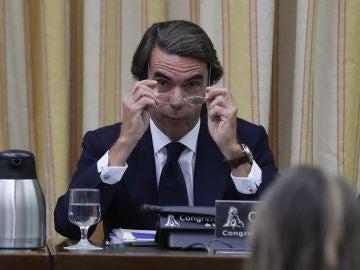 José María Aznar en el Congreso