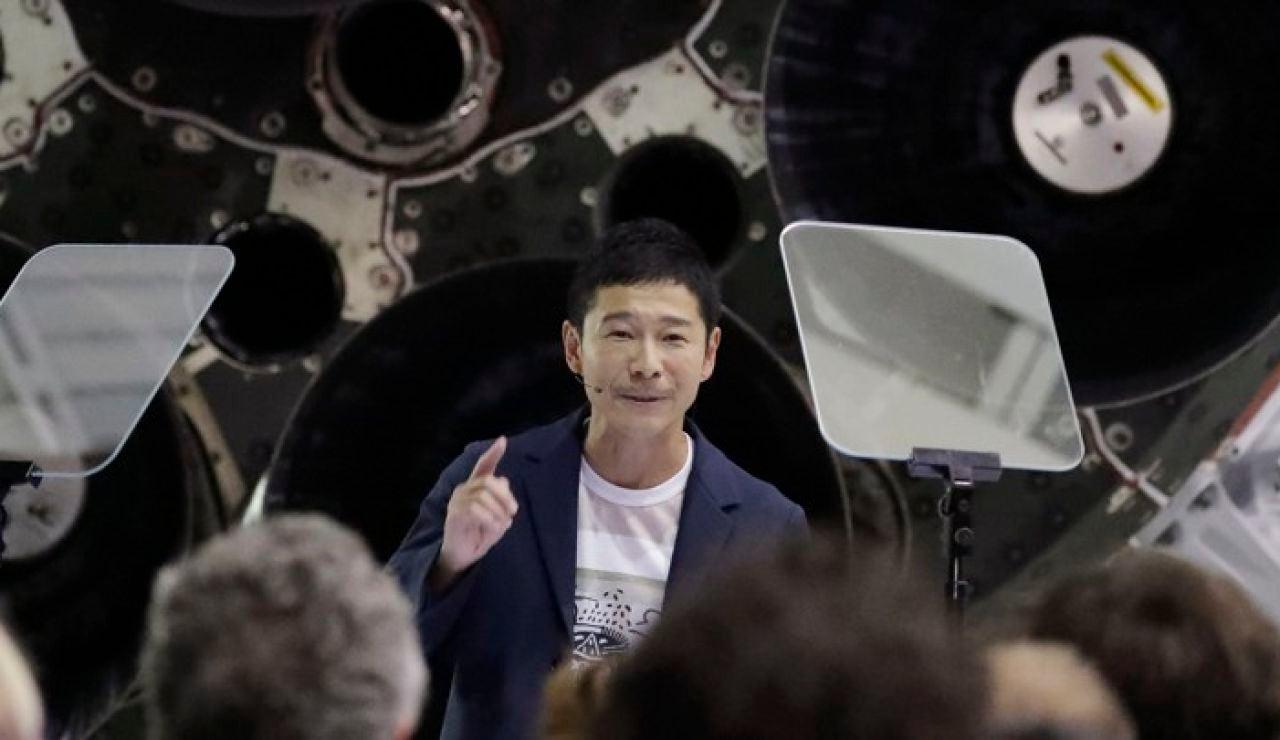Yusaku Maezawa, millonario que viajará a la Luna
