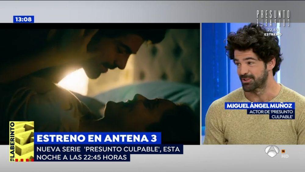 Miguel Ángel Muñoz cuenta en 'Espejo Público' cómo será su papel en 'Presunto Culpable' con nuevo 'look'