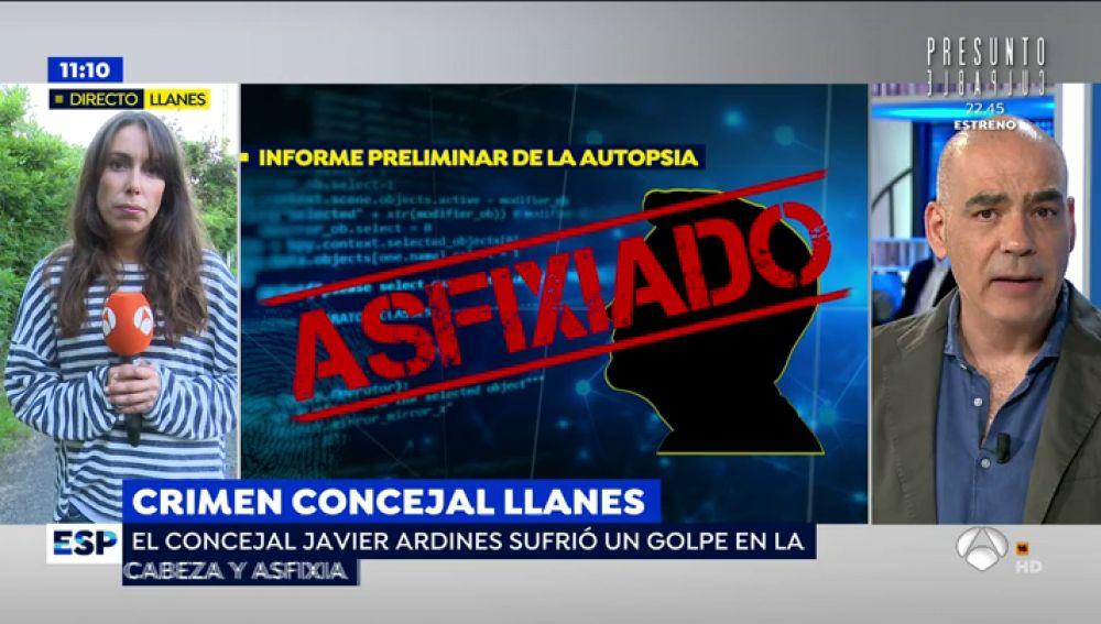 """'Espejo Público' accede a la autopsia del conceja de IU asesinado, Javier Ardines: """"Fue axfisiado"""""""