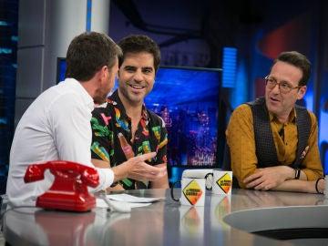 """Joaquín Reyes y Ernesto Sevilla aseguran que Javier Botet trabajando es un """"despiporre"""""""
