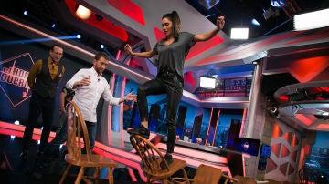 Pilar Rubio supera un nuevo y difícil reto en 'El Hormiguero 3.0'