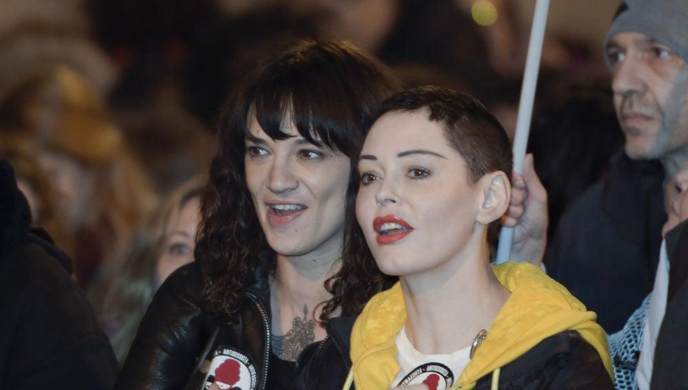 Rose McGowan y Asia Argento