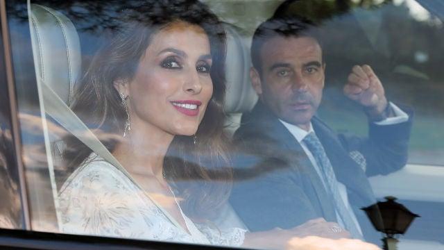 Paloma Cuevas y Enrique Ponce no se lo perdieron