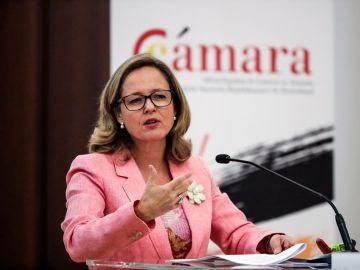 La ministra española de Economía y Empresa, Nadia Calviño