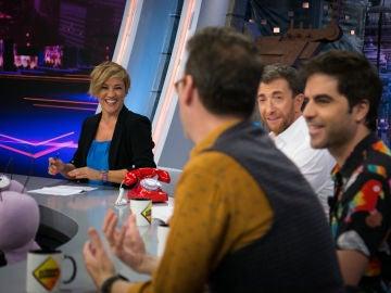Cristina Pardo repasa en 'El Hormiguero 3.0' los mejores momentos de la comparecencia de Aznar