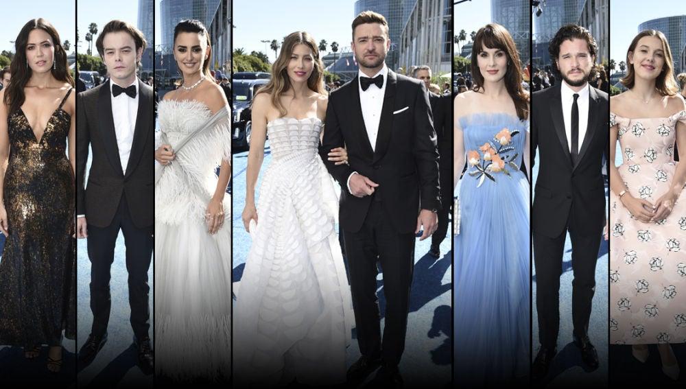 Alfombra roja de los Premios Emmy 2018