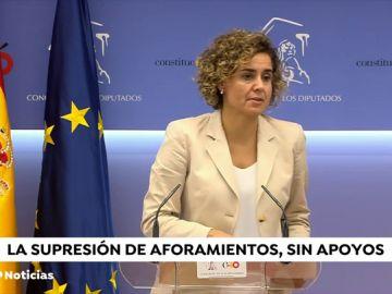 La propuesta de Pedro Sánchez de reformar la Constitución para eliminar aforamientos no va a ser ni fácil ni inmediata