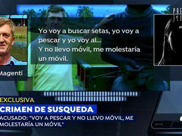 Las grabaciones del asesino del pantano de Susqueda en las que fabricaba su coartada del crimen de Marc y Paula
