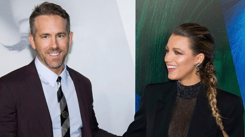 Ryan Reynolds y Blake Lively en la premiere de 'Un pequeño favor'