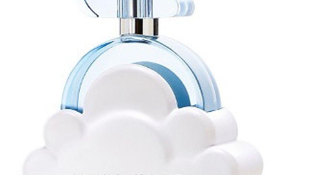 Frasco de 'Cloud', la nueva colonia de Ariana Grande