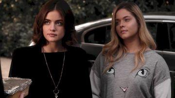Aria y Alison en 'Pretty Little Liars'