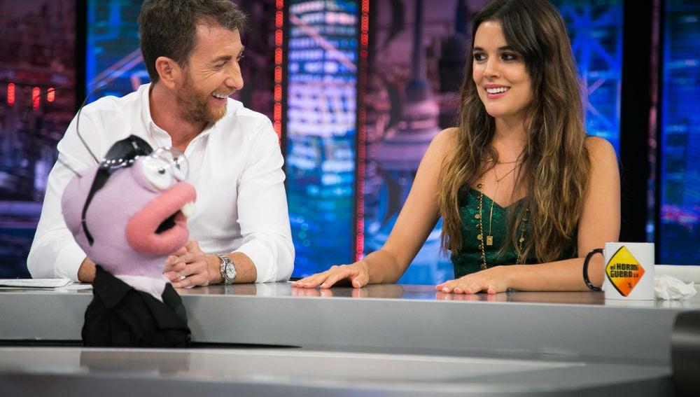 """Revive el cuestionario de Trancas y Barrancas a Adriana Ugarte sobre su Instagram: """"No sigues a Pablo Motos"""""""