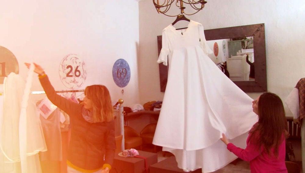 """lucía se emocionó en la primera prueba de su vestido"""", los secretos"""