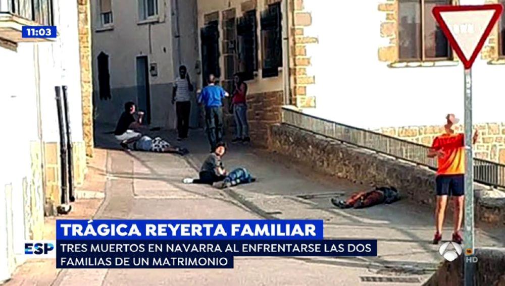 Cáseda teme una nueva matanza por la venganza del crimen entre familias que se saldó con tres muertos