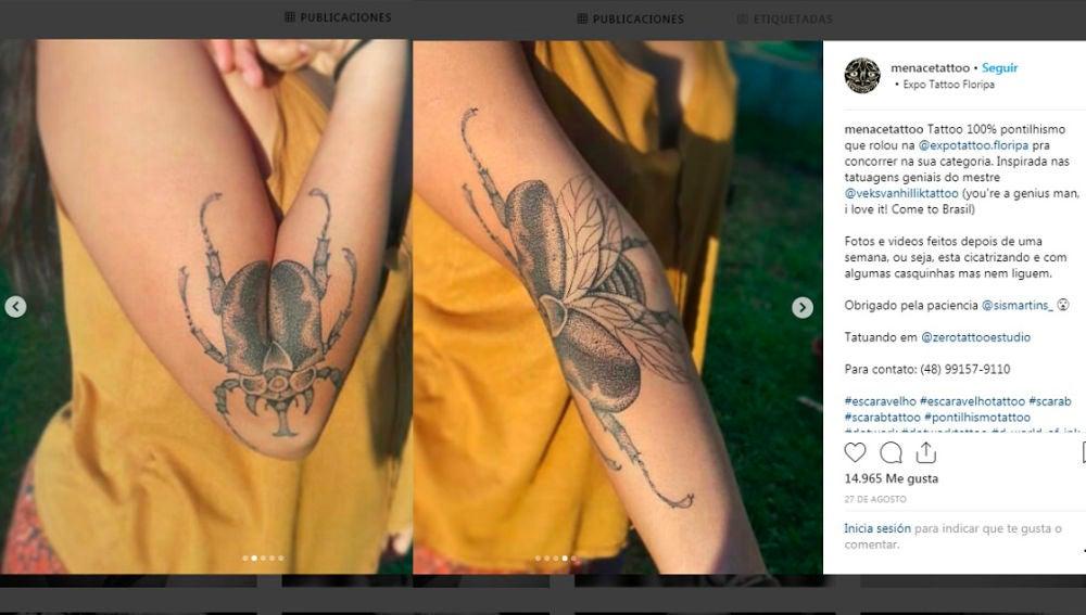 8 Increíbles Tatuajes Que Se Transforman Según La Posición Del Brazo