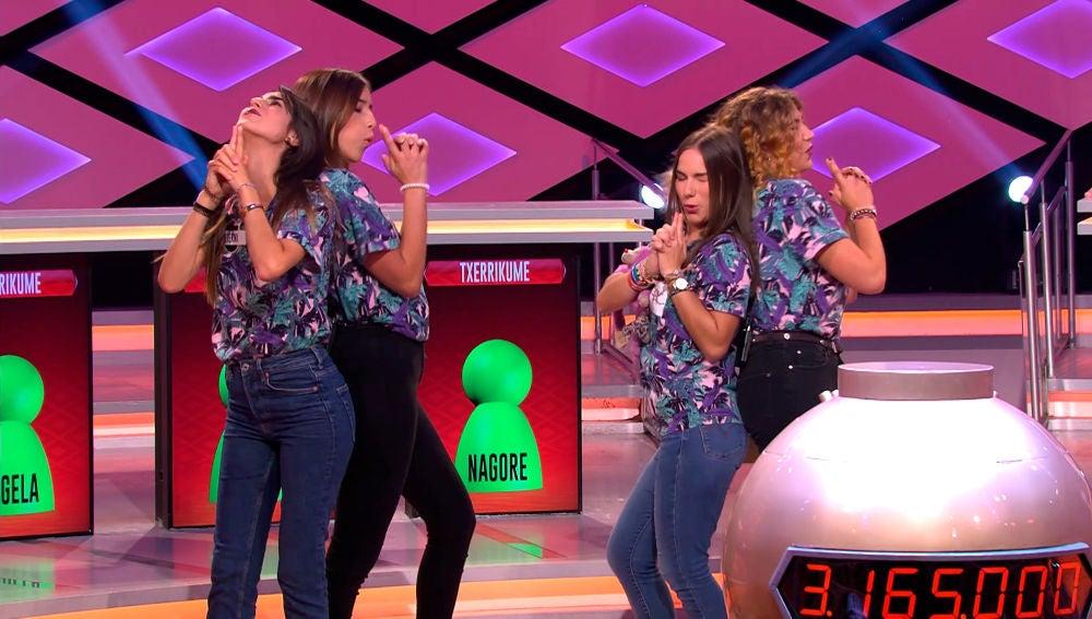 Las 'Txerrikume' se presentan con un pegadizo baile en '¡Boom!'