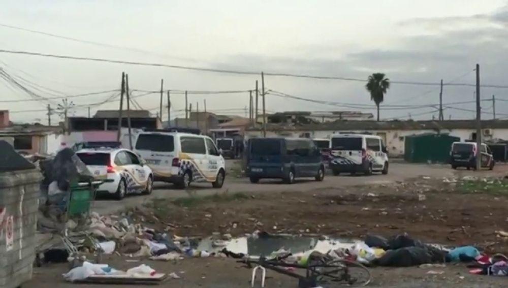 El Ayuntamiento de Palma retoma los derribos del poblado de Son Banya
