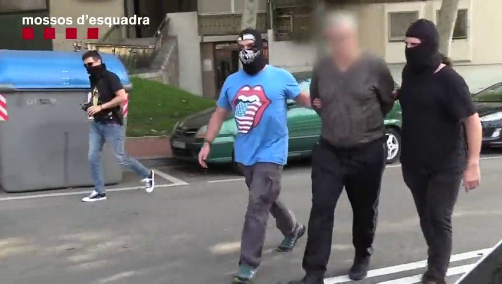 Los Mossos d'Esquadra detienen a un líder de la mafia georgiana en un golpe contra ladrones de pisos