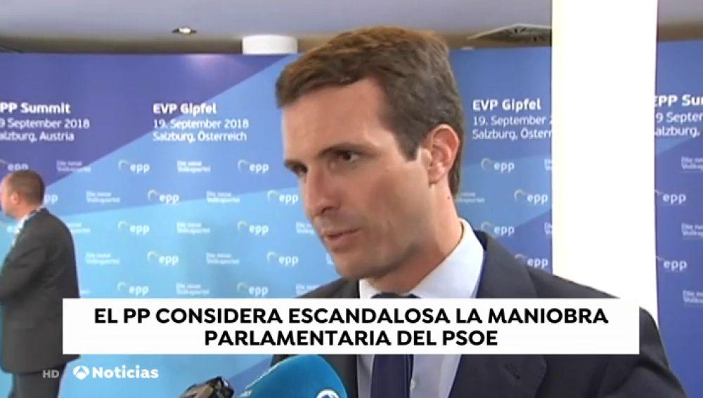 Sánchez defiende la legalidad de la enmienda para aprobar los Presupuestos que el PP amaga con llevar al Constitucional