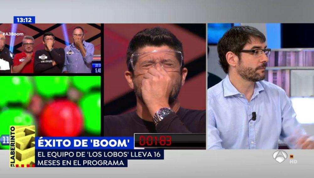 """Juanra Bonet desvela el secreto del éxito de '¡Boom!': """"La cadena ha sabido escuchar al espectador"""""""