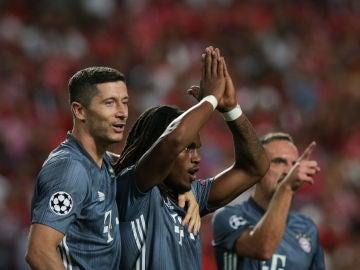 Renato Sanches se disculpa tras marcar ante el Benfica