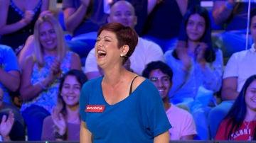 Almudena, la concursante que desató las risas gracias a 'la calocha'