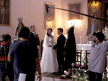 ¡nos colamos en el rodaje de la boda de María e Ignacio!