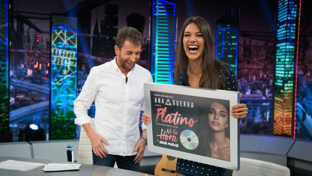 Ana Guerra cuenta en 'El Hormiguero 3.0' cómo surgió su nuevo single, 'Ni la hora'