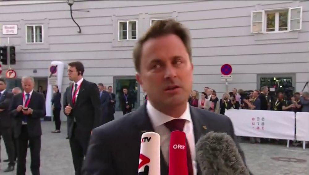 """El primer ministro de Luxemburgo muestra su """"asco"""" ante la idea de pagar para no acoger a inmigrantes"""
