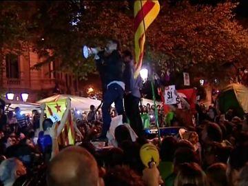 """Los independentistas rememoran las protestas que llevaron a la cárcel a """"los Jordis"""""""