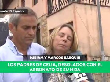 """Los padres de Celia Barquín: """"¡Ay mi hija!, qué mala suerte ha tenido mi pobre"""""""
