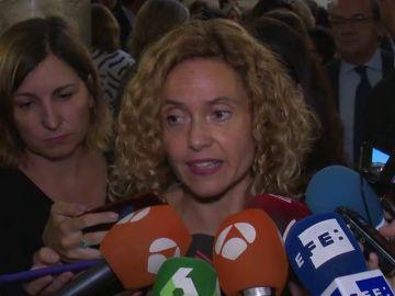 """La ministra Meritxell Batet sobre las declaraciones de Maragall en Onda Cero: """"son absolutamente falsas y espero que rectifique sus propias palabras"""