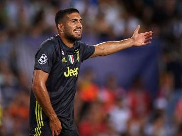 Emre Can, en un partido de la Juventus