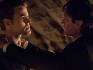 Stefan y Damon Salvator, un vínculo indestructible