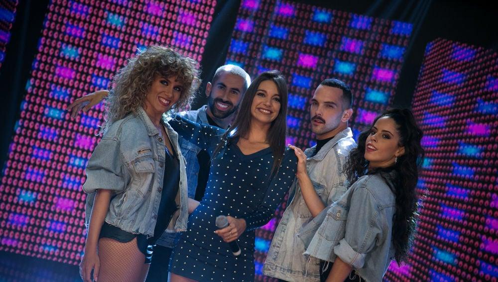 Ana Guerra revoluciona el plató de 'El Hormiguero 3.0' cantando en directo 'Ni la hora'