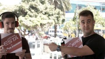 Diversión y valientes aspirantes en los castings en directo de Las Palmas