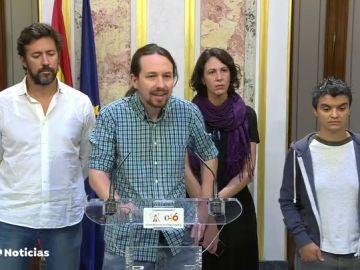 El Gobierno carece del apoyo de Podemos sobre los aforamientos: Iglesias insiste en retirar el fuero a la Familia Real